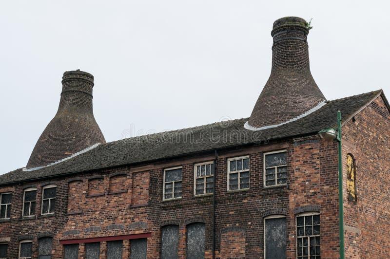 瓶窑在瓦器工厂 图库摄影