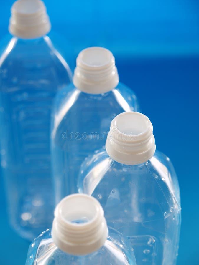 瓶线路塑料 图库摄影