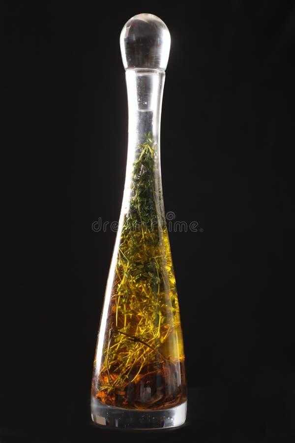 瓶草本油橄榄 图库摄影
