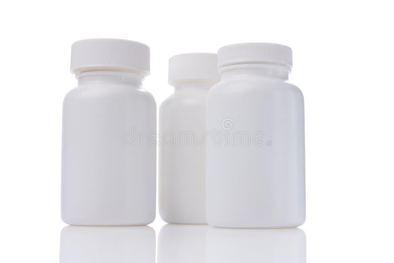 瓶药物 免版税库存照片