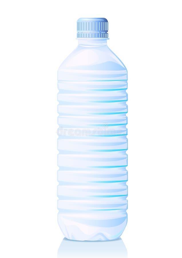 瓶装水 向量例证