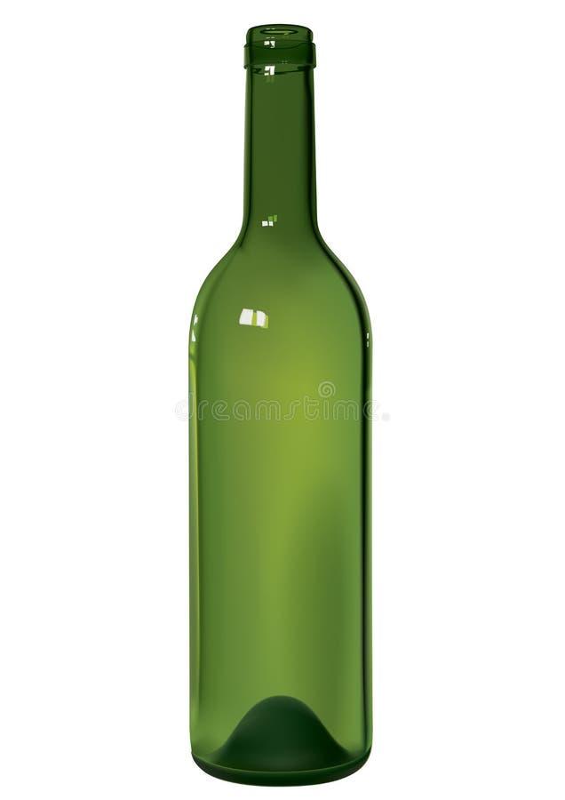 瓶酒 皇族释放例证