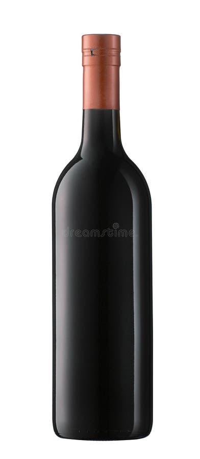 瓶酒 图库摄影