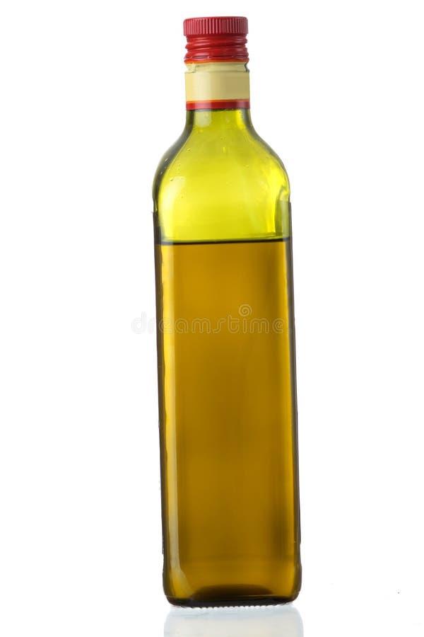 瓶额外的油橄榄色贞女 免版税图库摄影