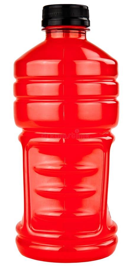 瓶饮料电解质塑料体育运动 库存照片