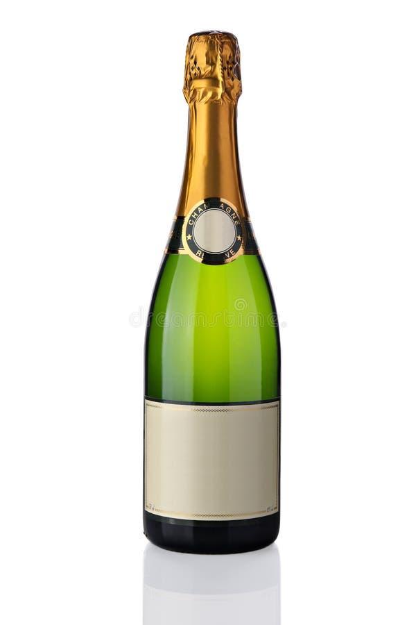 瓶香槟 库存图片