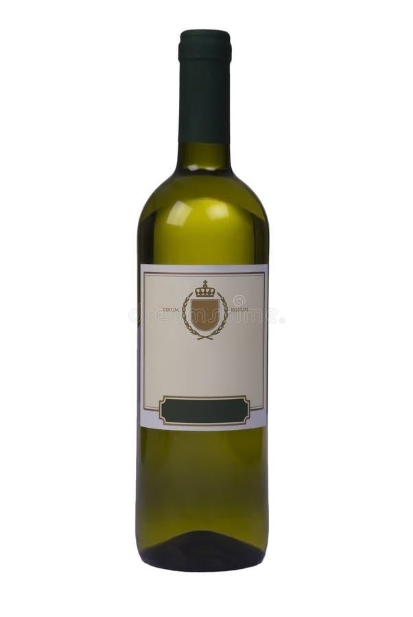 瓶高品质葡萄酒 免版税库存图片