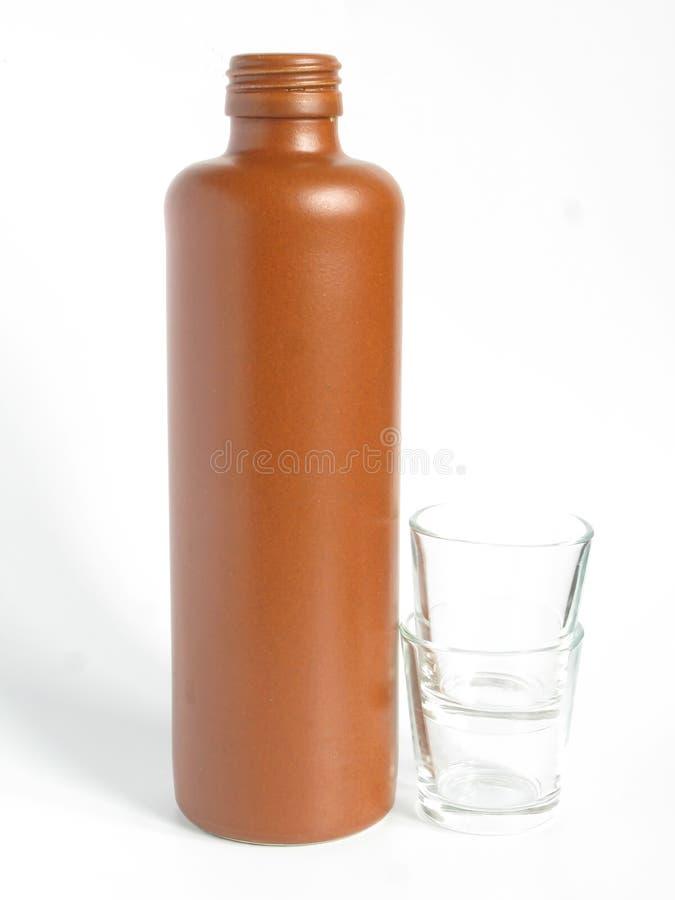 瓶黏土 免版税图库摄影
