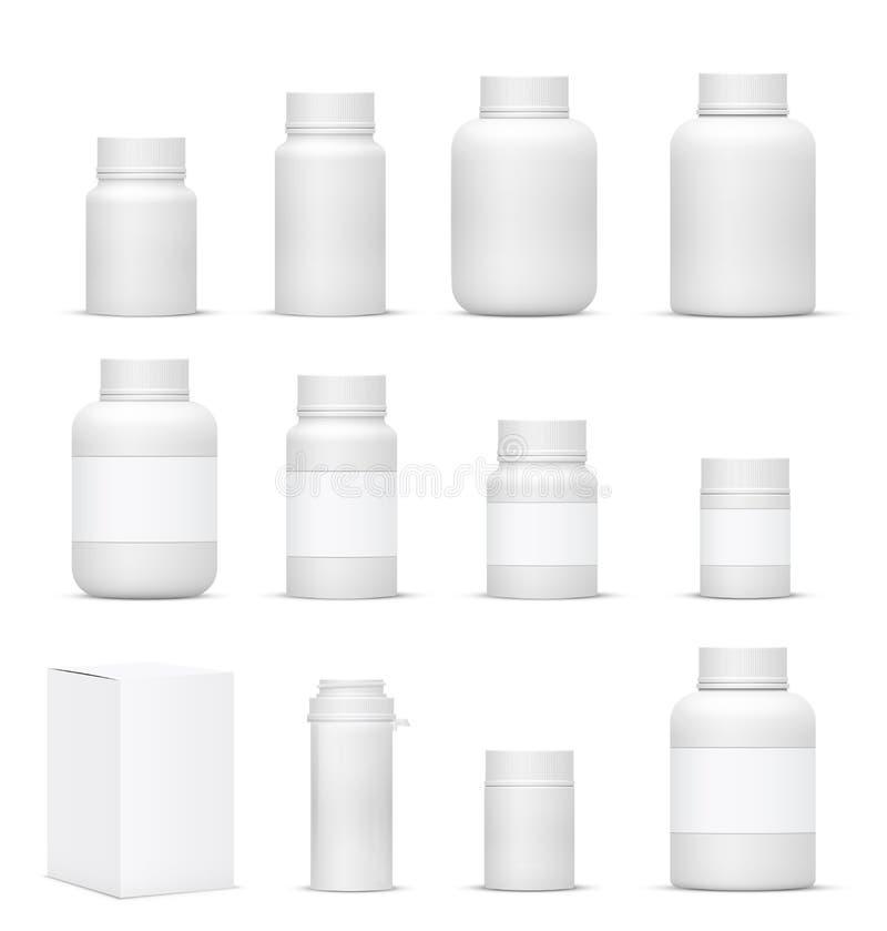 瓶 向量例证