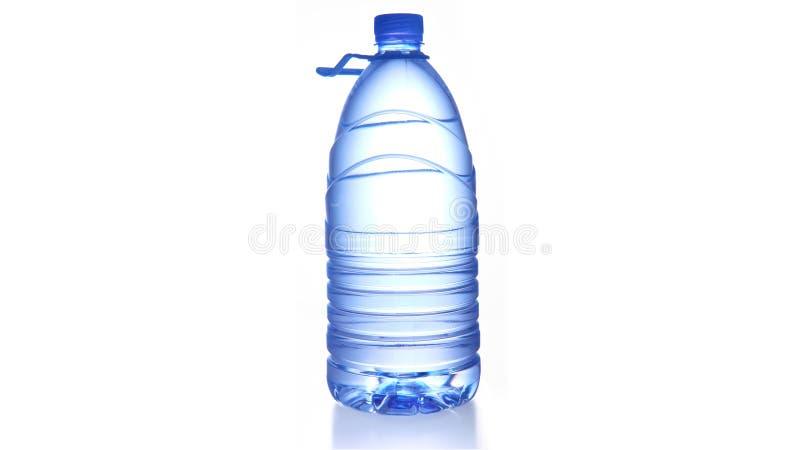 瓶水 免版税库存照片