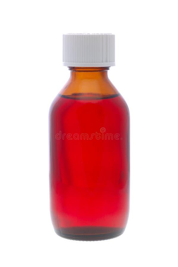 瓶miedicine 库存图片