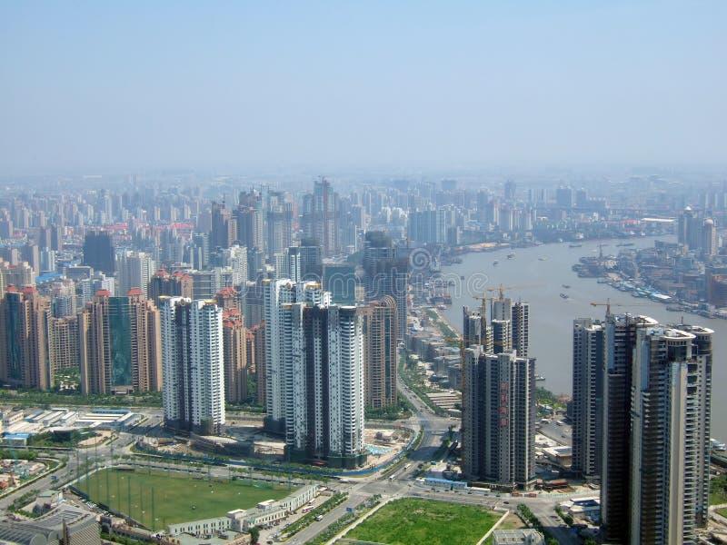 瓷上海 免版税库存照片