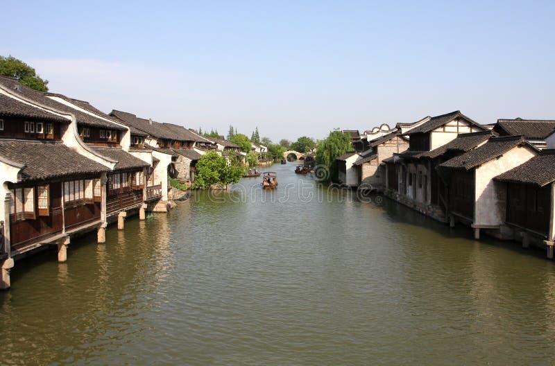 瓷国王城镇wuzhen 免版税库存照片