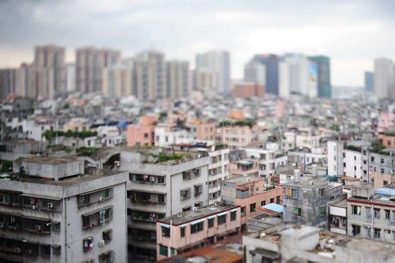 瓷城市国家(地区)天桥广州shipai 免版税库存照片