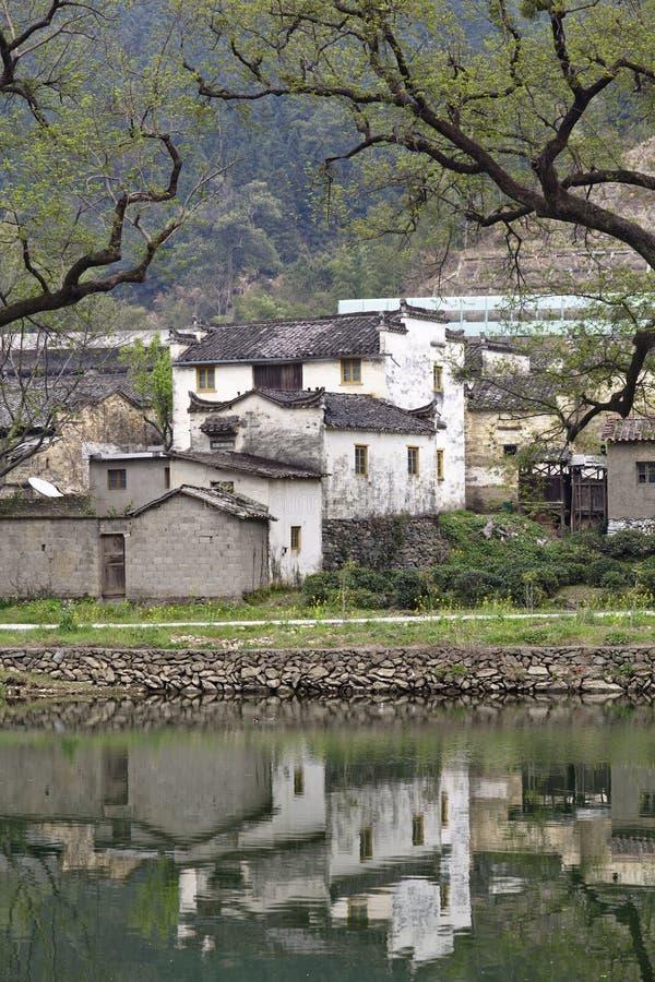 瓷安置农村wuyuan 库存照片