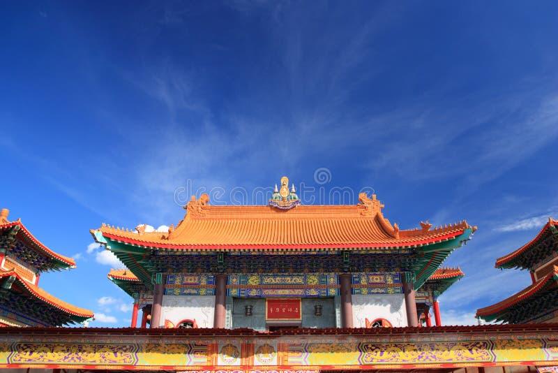 瓷寺庙 库存图片