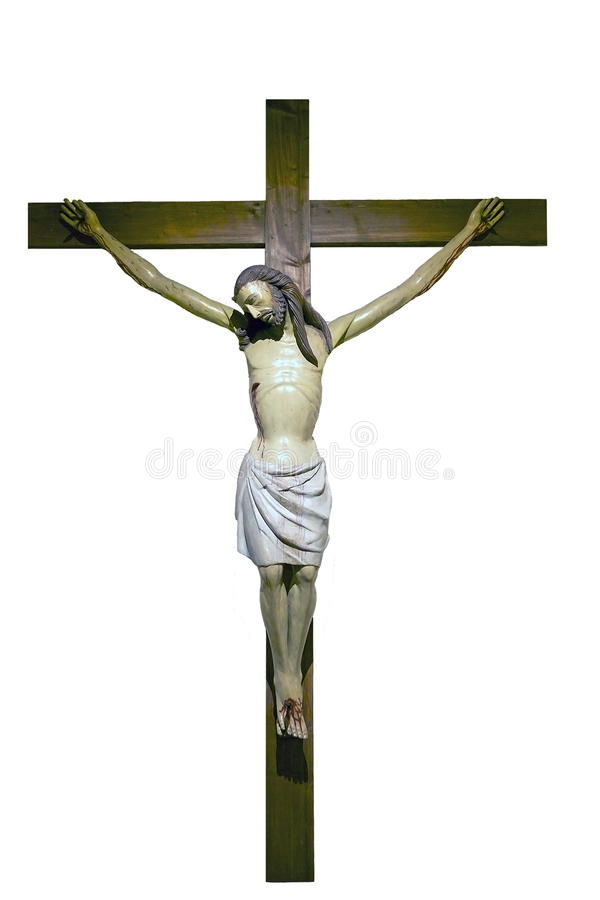 瓷教会在十字架上钉死domingos ・西班牙托钵僧・耶稣・澳门st 免版税库存照片