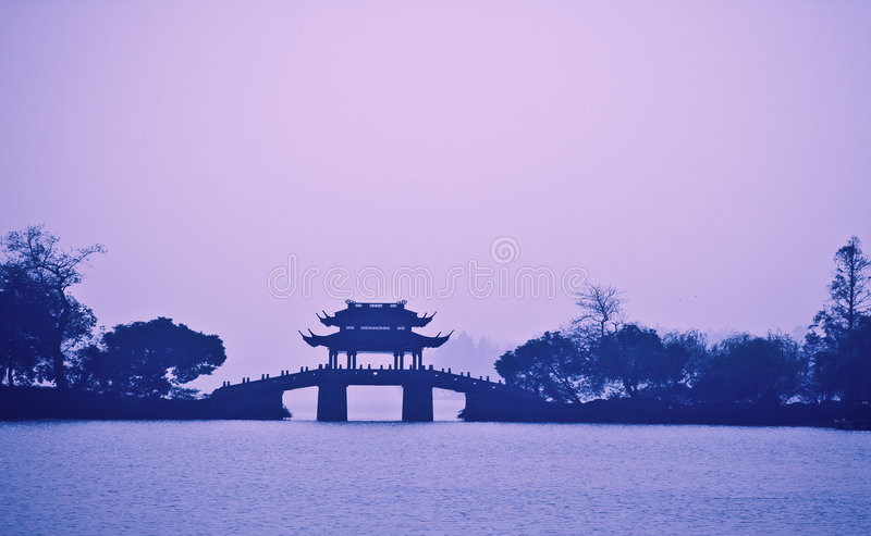 瓷杭州 免版税库存照片