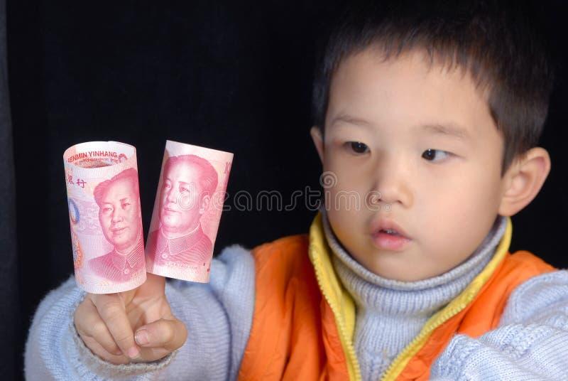 瓷货币 库存照片