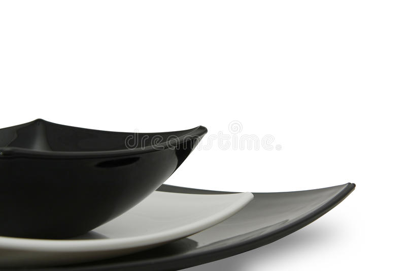 瓷餐具 免版税库存照片