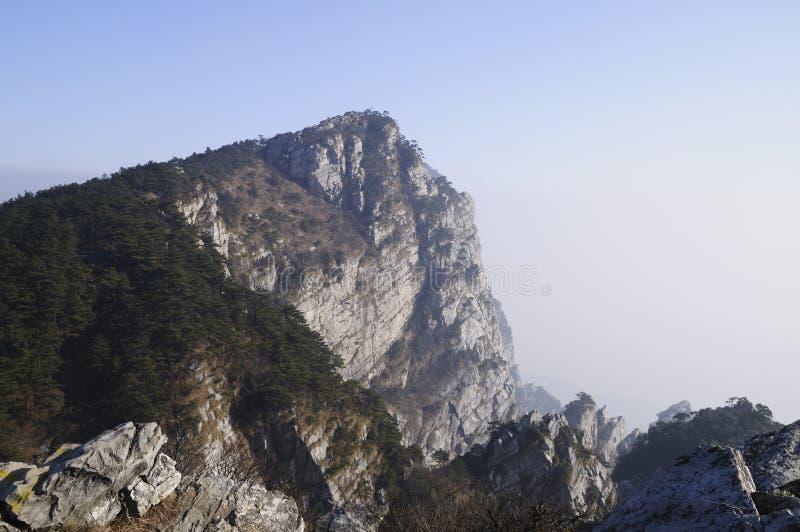 瓷lushan山脉 免版税库存照片