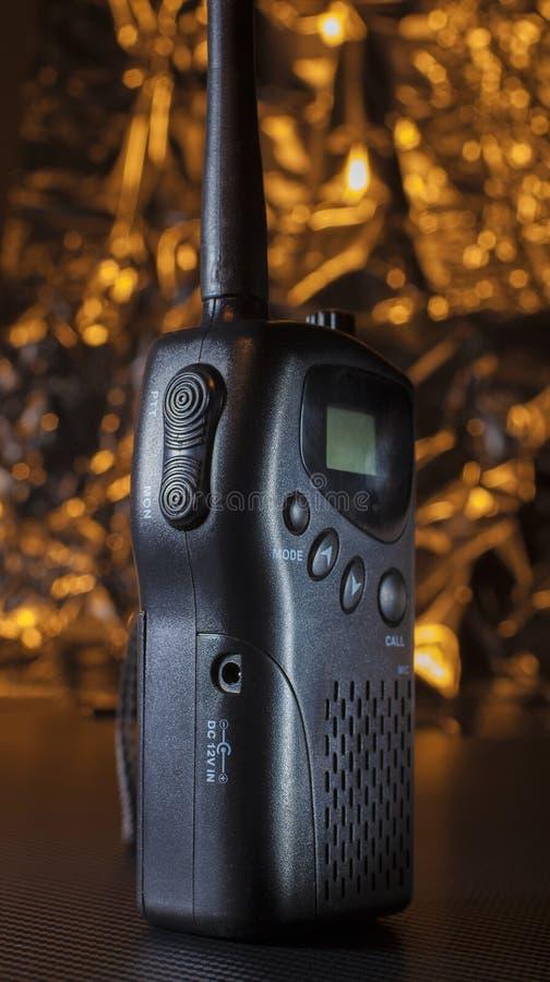 甚高频携带无线电话 库存图片