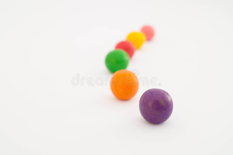 甜五颜六色的糖果2 库存照片