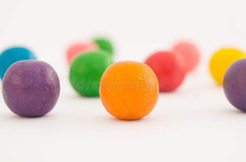 甜五颜六色的糖果6 免版税图库摄影