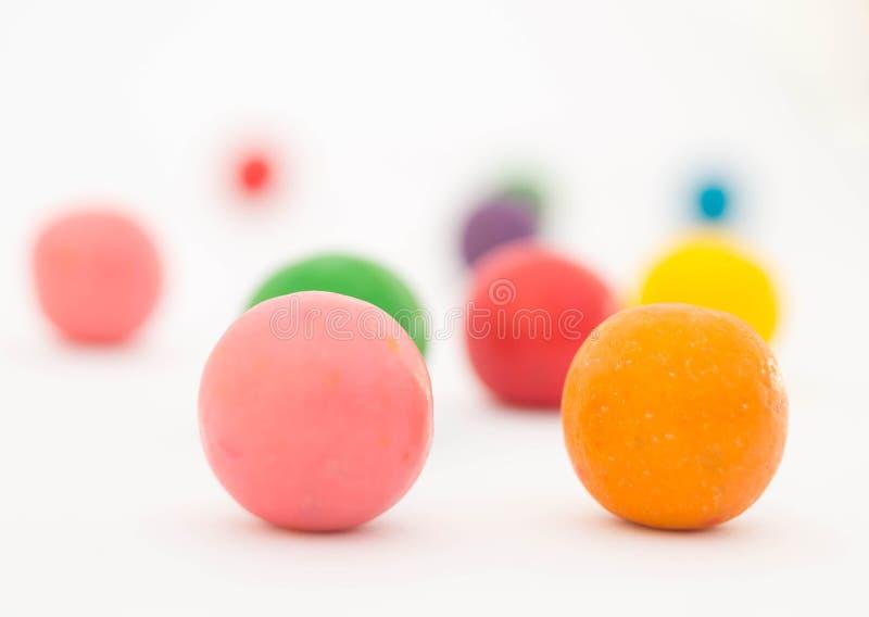 甜五颜六色的糖果7 免版税库存图片