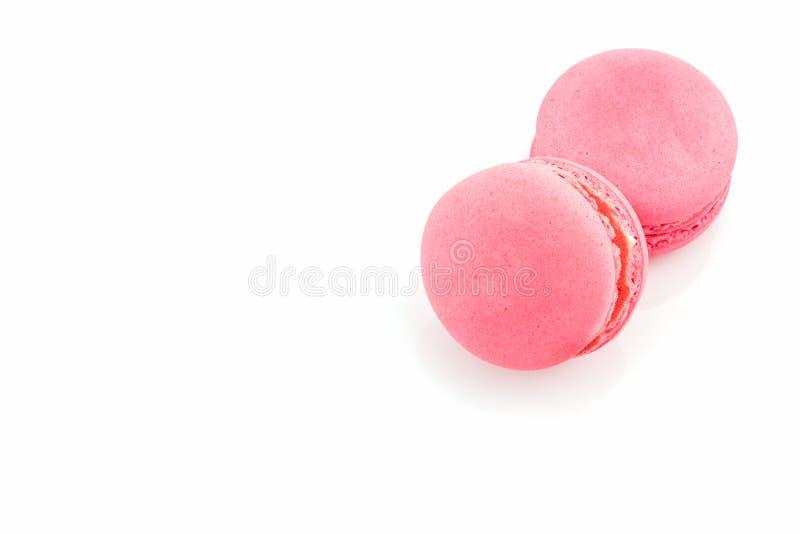 甜和五颜六色的法国macarons 免版税图库摄影