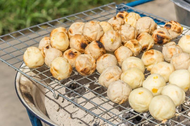 甜多士grinded木薯 免版税库存图片