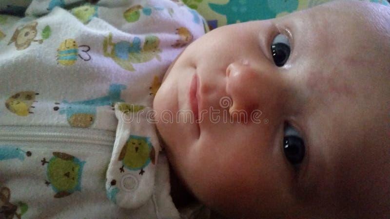 甜婴孩 库存照片