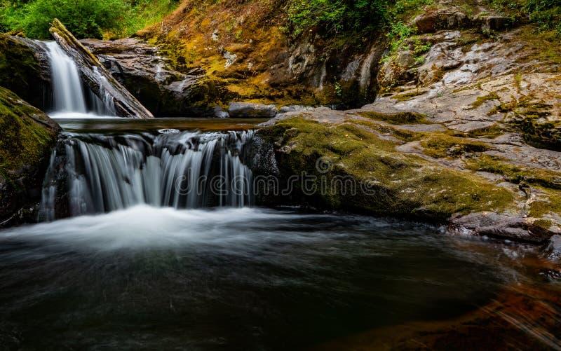 甜小河路径源头水流量 免版税图库摄影