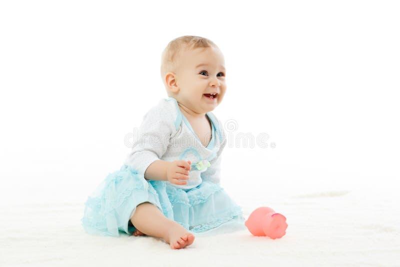 甜小的女婴。 免版税库存照片