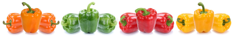甜椒五颜六色的胡椒辣椒粉辣椒粉菜食物iso 库存图片