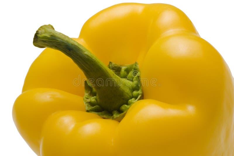 甜椒黄色 图库摄影