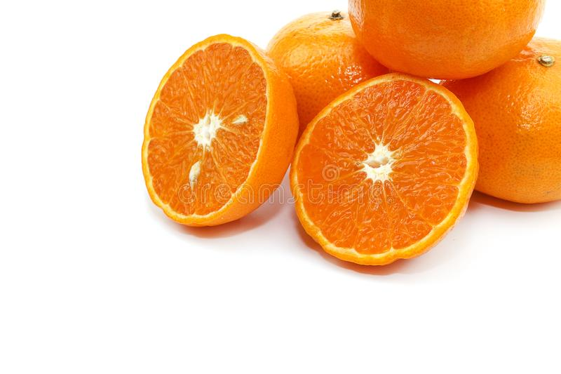 甜橙新鲜水果 免版税库存图片