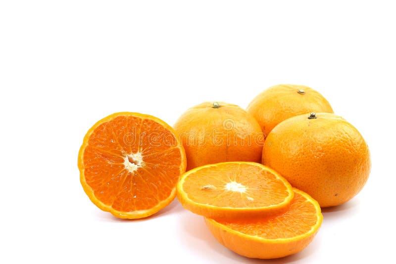 甜橙果子 库存图片