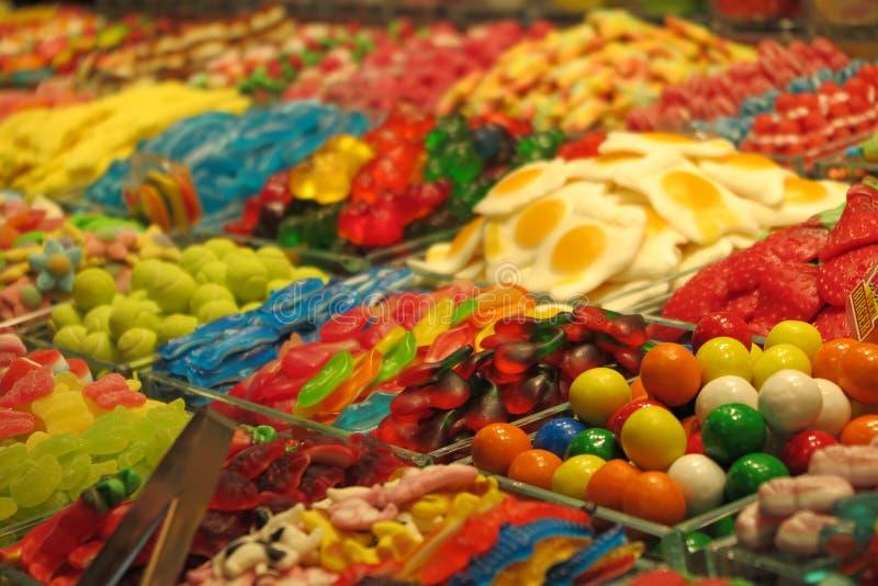 甜点立场 免版税图库摄影