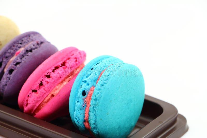 甜点macarons 图库摄影