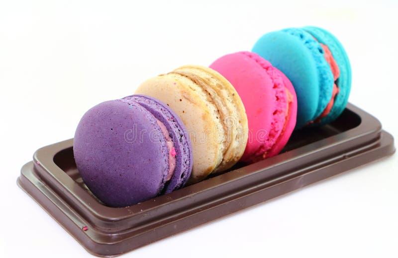 甜点macarons 免版税库存照片