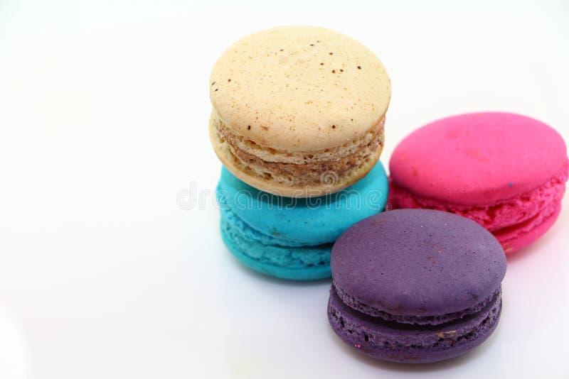 甜点macarons 免版税库存图片