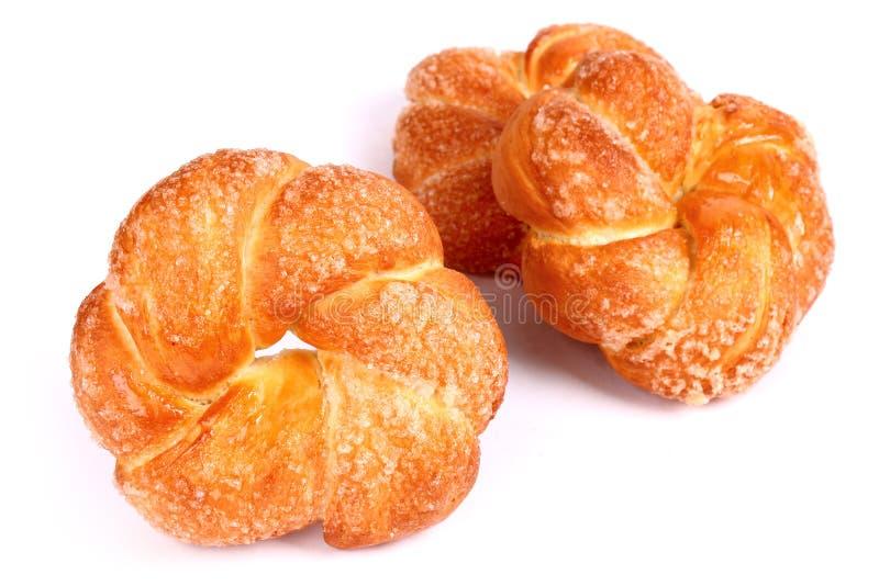 甜的小圆面包 图库摄影