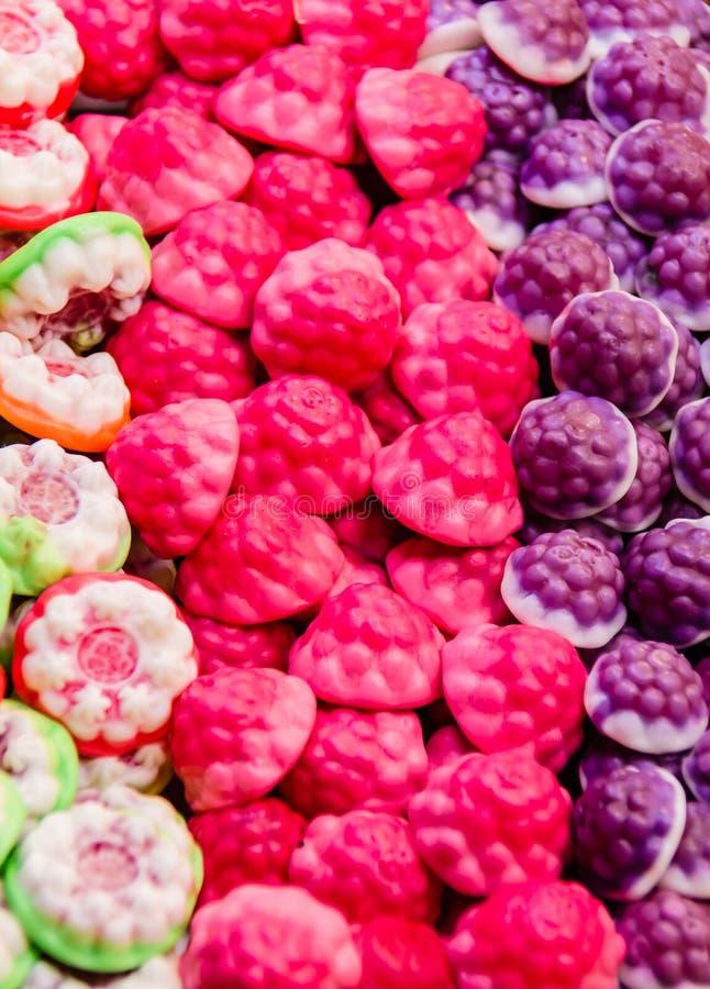 甜莓果 免版税库存图片