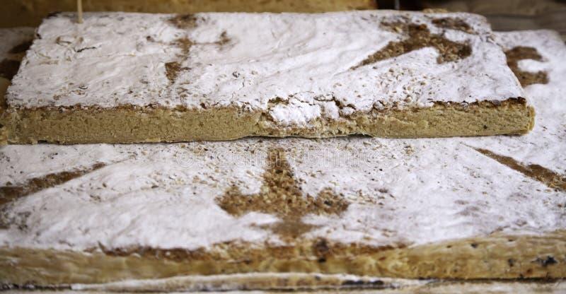 甜蛋糕圣地亚哥 库存照片
