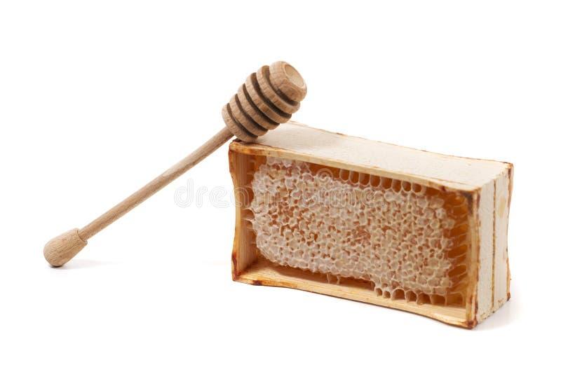 甜蜂窝条板箱 库存照片