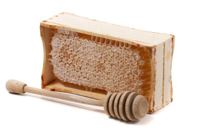 甜蜂窝条板箱 免版税库存照片