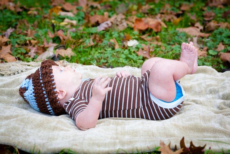 甜婴孩 免版税库存图片