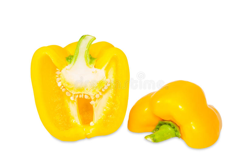 甜黄色胡椒 免版税库存图片