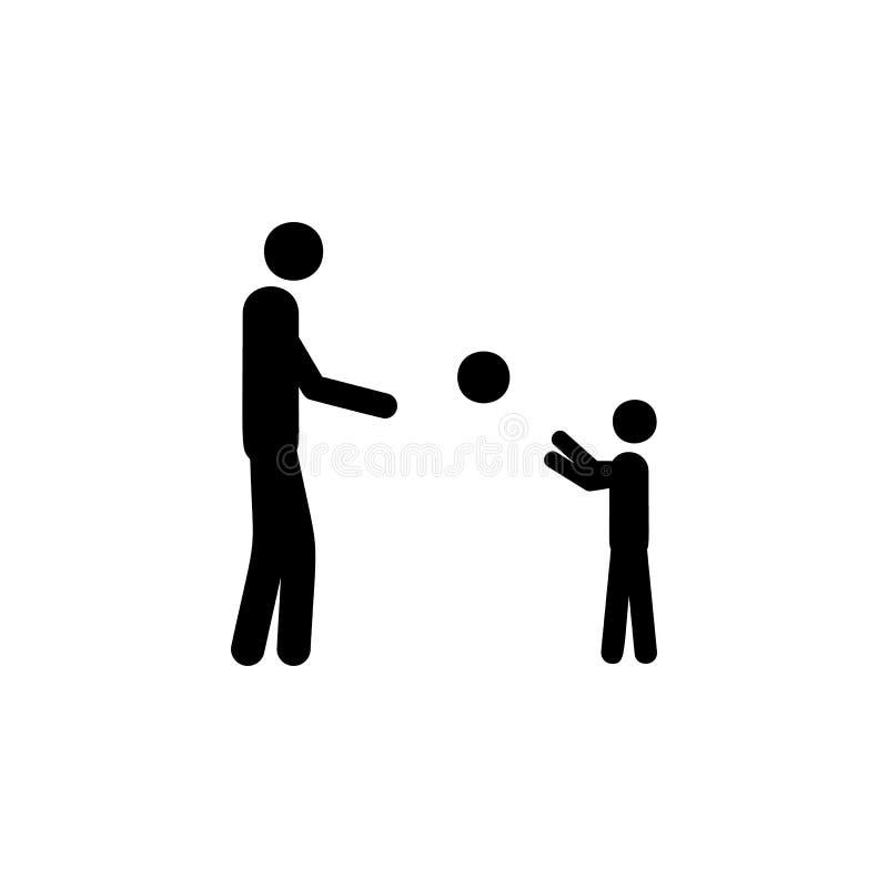 生与孩子的戏剧球象的 生活已婚人例证的元素 优质质量图形设计象 Si 向量例证